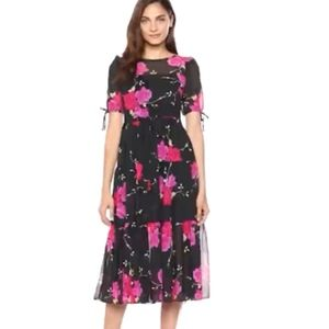 NWT Betsey Johnson vintage tiered maxi dress